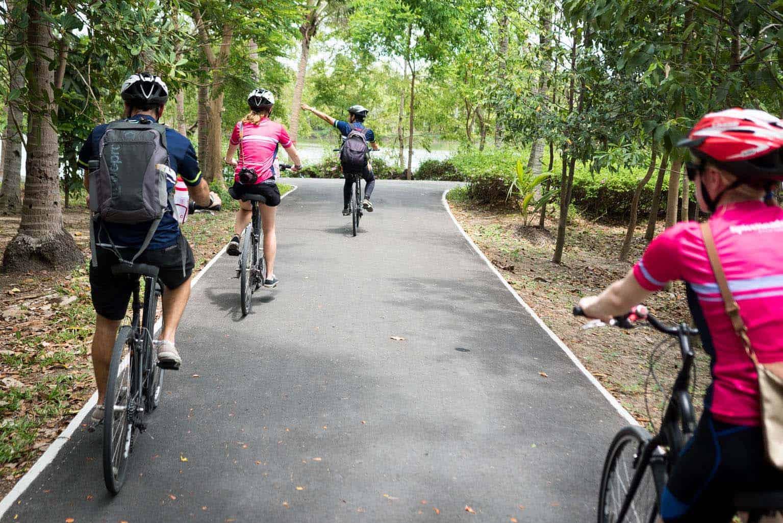 Bangkok Jungle by Bicycle