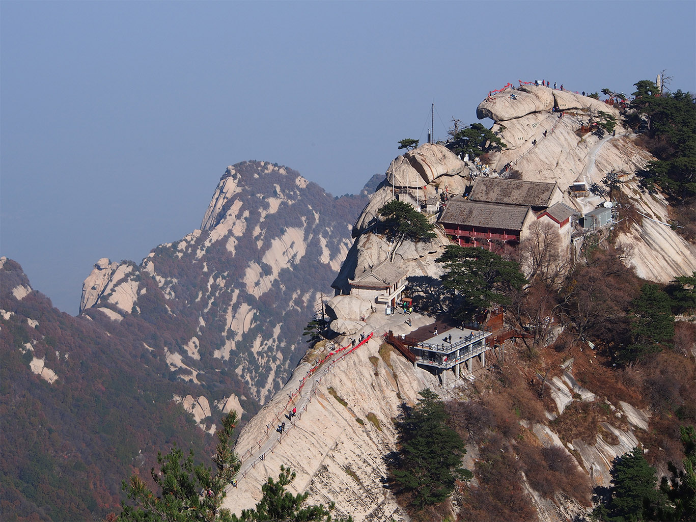 Discover Mt. Huashan