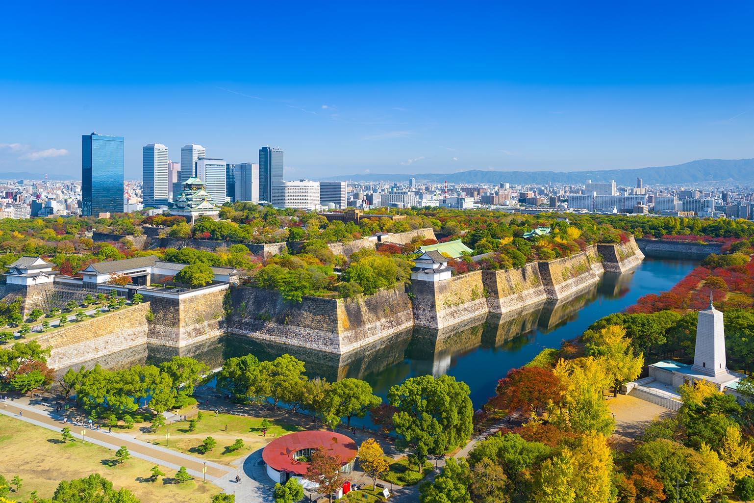 Osaka-Japan-Skyline