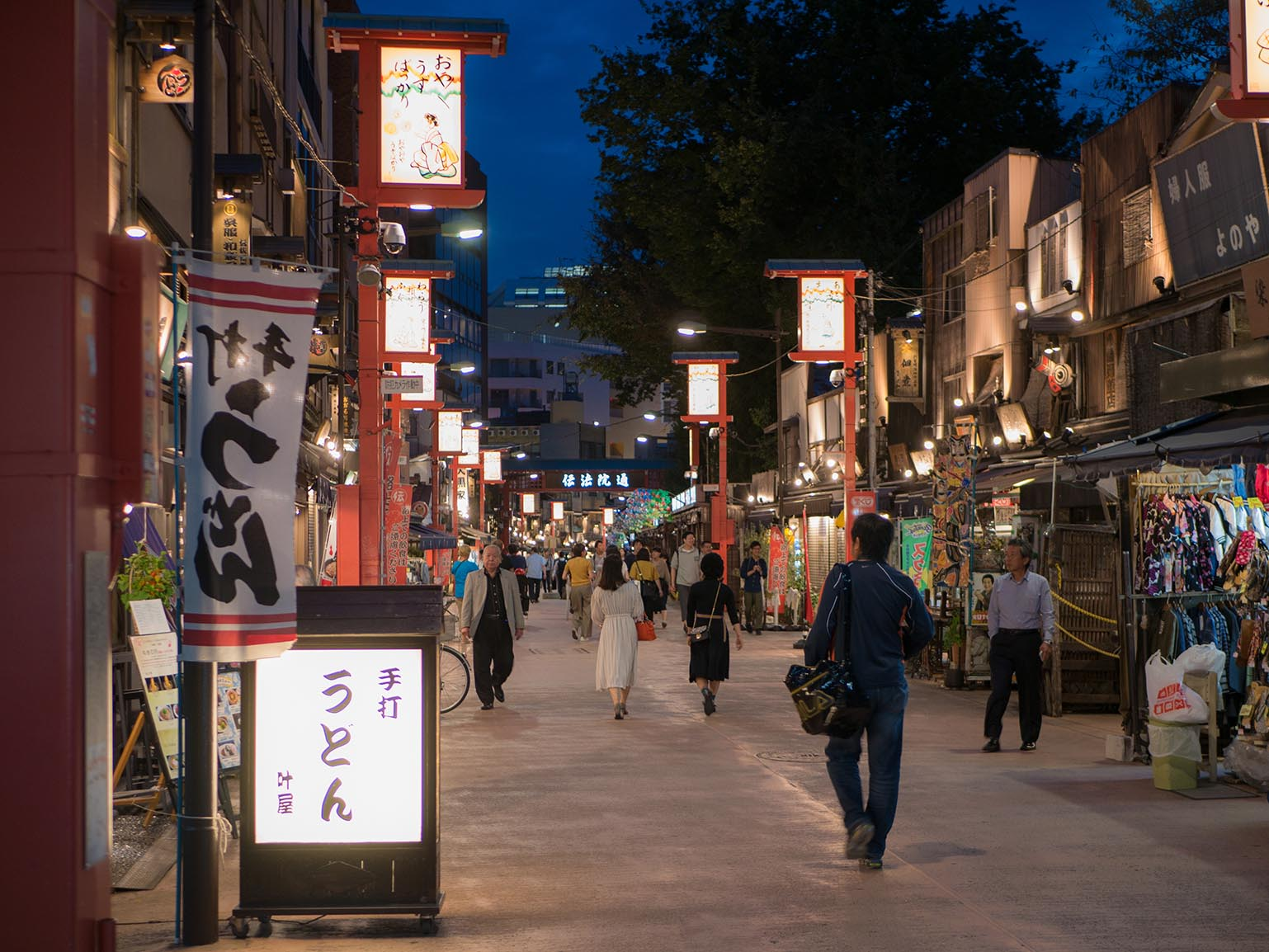 Asakusa Night Walk